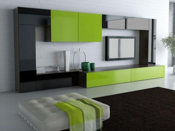 Удивительное сочетание зеленого и черного.