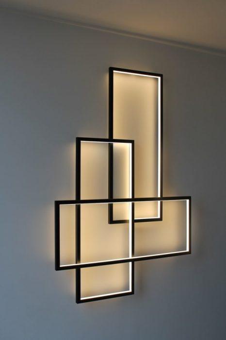 Необычный светодиодный светильник - это самый современный и трендовый источник света.