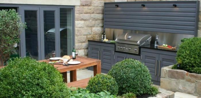 Ключ к созданию красивой кухни на свежем воздухе - продуманная планировка.