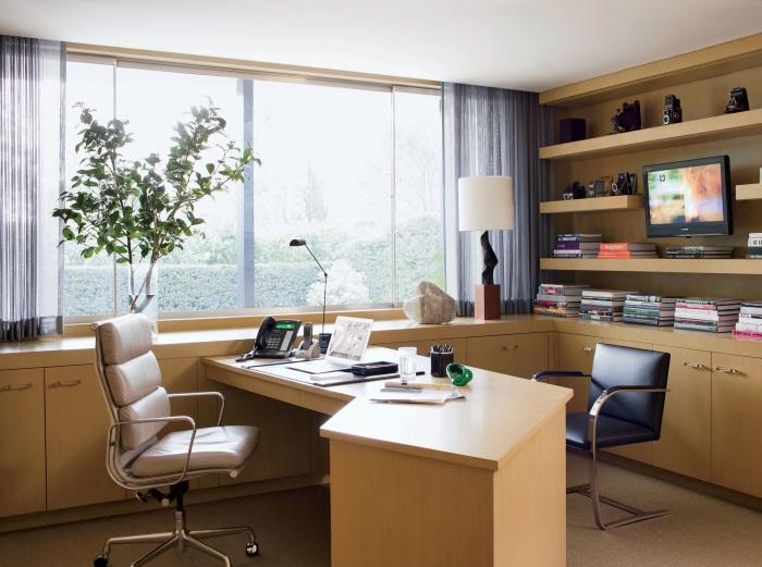 Домашний офис для настоящих руководителей.