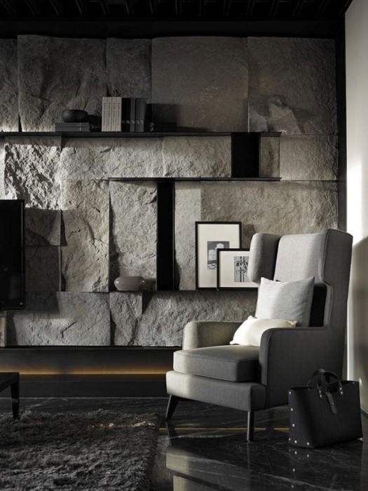 Искусственный камень в отделке интерьеров стал одним из наиболее популярных материалов.