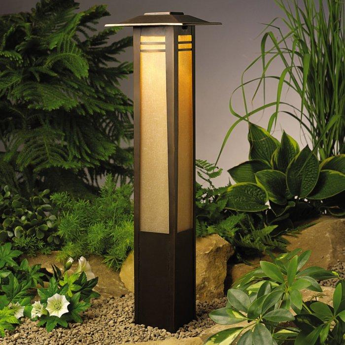 Светильник в японском стиле для сада.