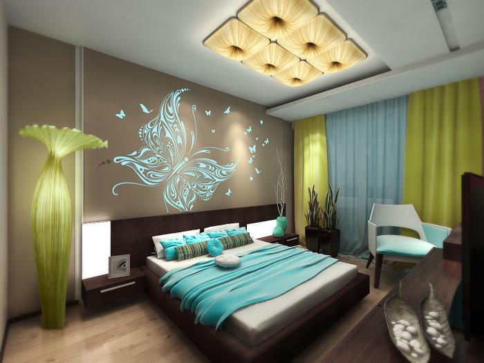 Подсвеченные рисунки на стенах и необычная цветовая гамма создали по-настоящему сказочную атмосферу.