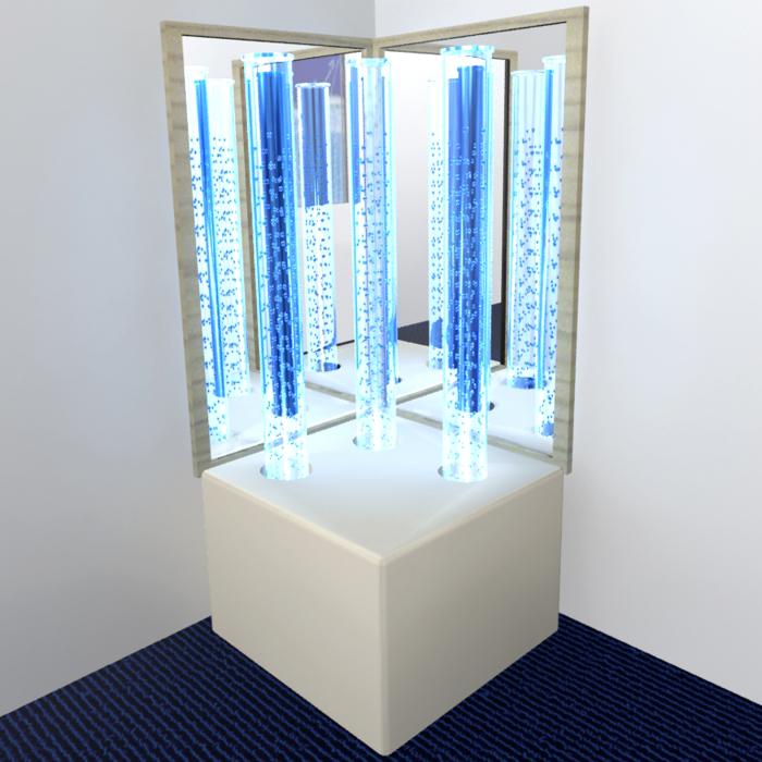 Комплект «сенсорный уголок» с неоновой подсветкой.