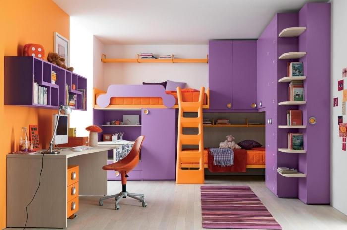 Лучший интерьер детской комнаты для девочек.