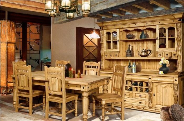 Светлые породы древесины способные зрительно расширить помещение.