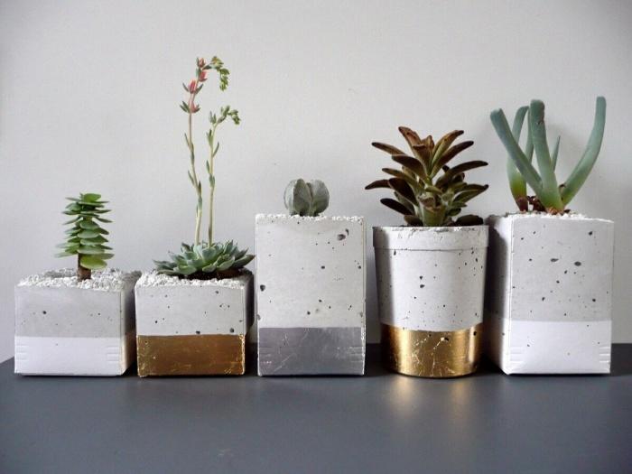 Купить кашпо из бетона