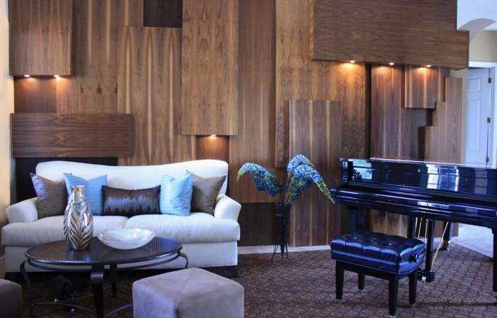 Вдохновляющие примеры отделки стен деревом, которые изменят ваше отношение к современному интерьере.