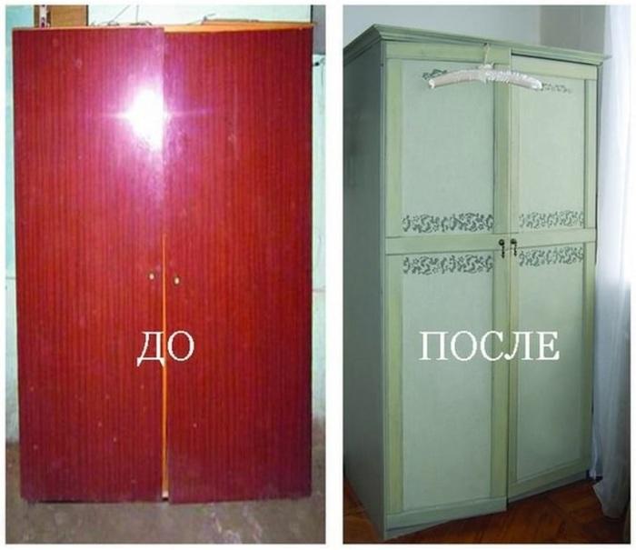 Не стоит выбрасывать старую мебель, ведь вы можете существенно сэкономить, получив уникальный элемент интерьера.