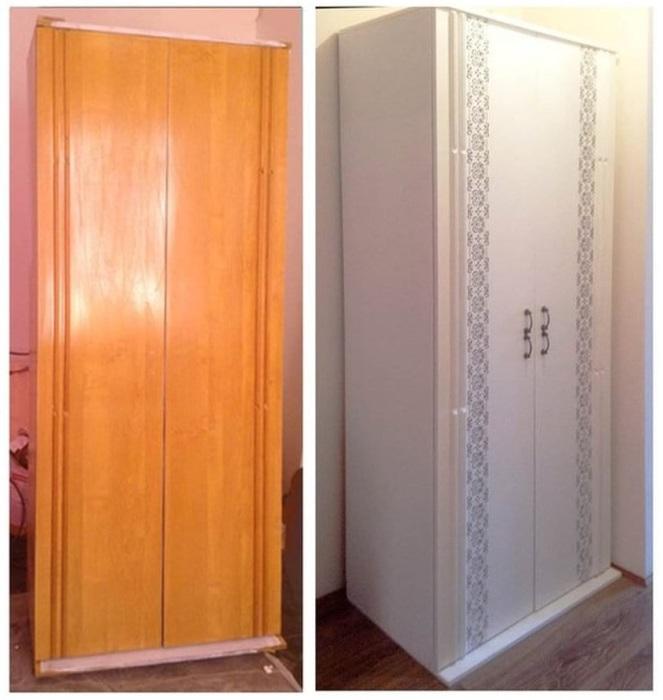 Новый современный вид старого советского шкафа.