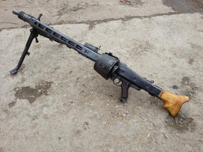 Самый известный пулемет Вермахта.