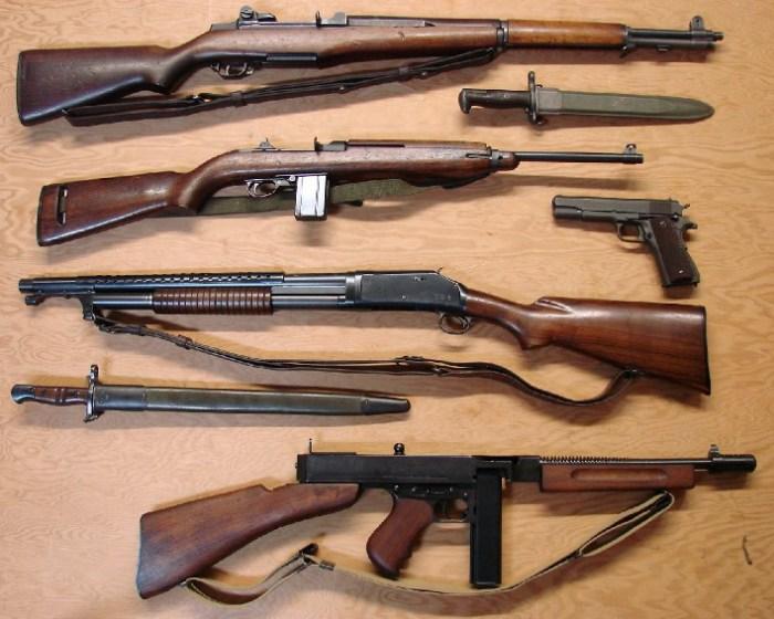 Оружие Армии союзников.