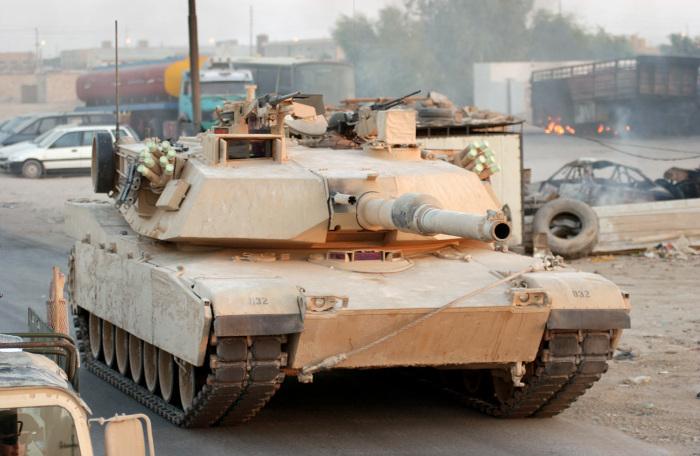 Американский танк.