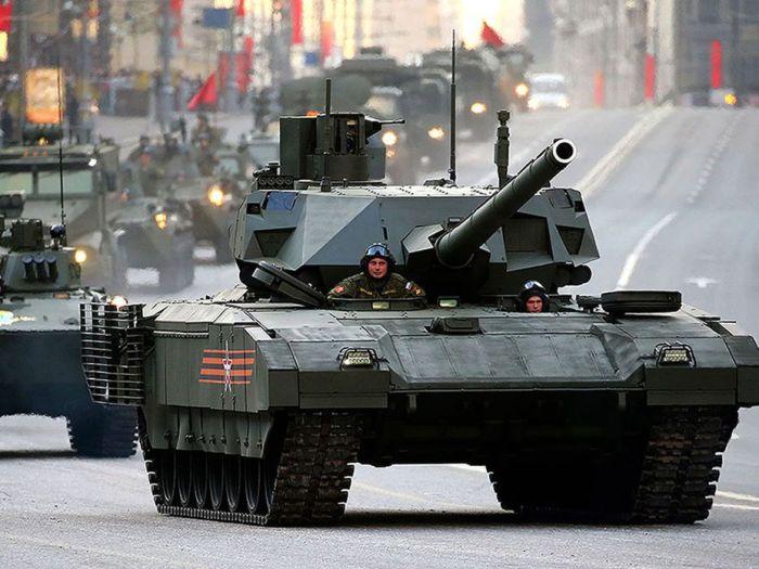 Русский танк.