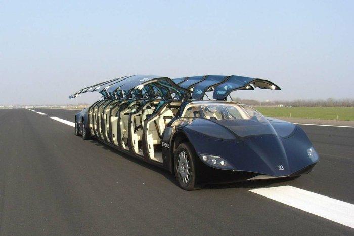 Самые удивительные транспортные средства.