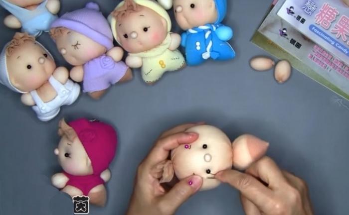 Милейшие куклы своими руками.