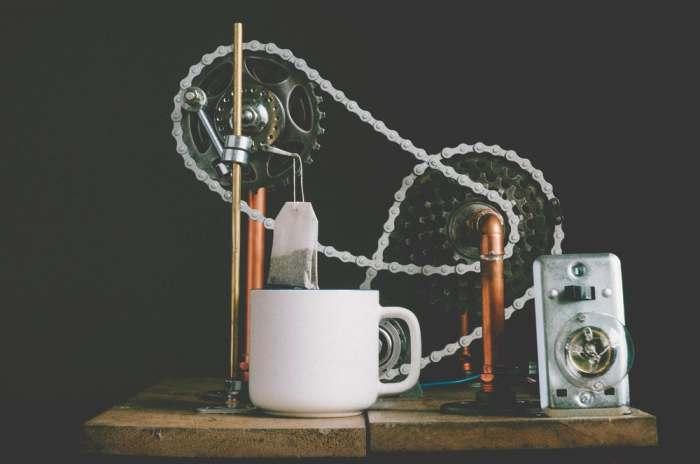 Чайная машина.