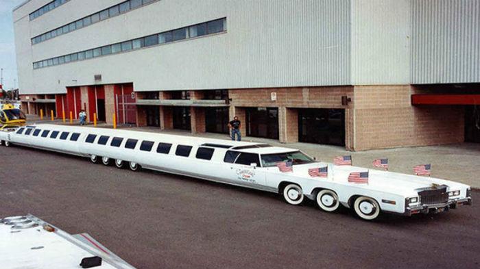Самые странные и интересные лимузин на планете.