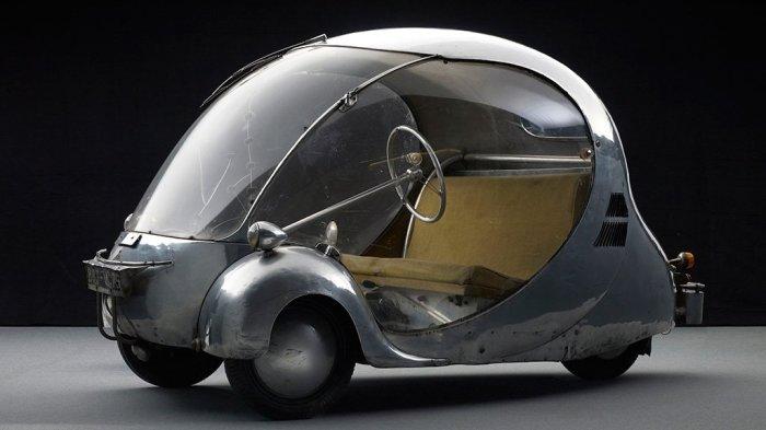 Один из первых полноценных электромобилей.