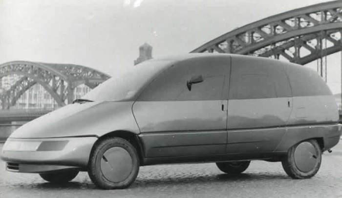 Автомобиль будущего, который так и не случился.