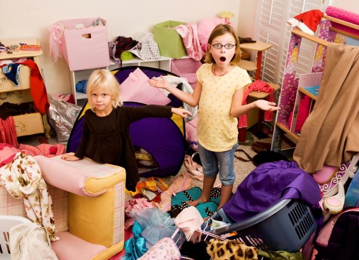 Уборка в доме - это вызов.