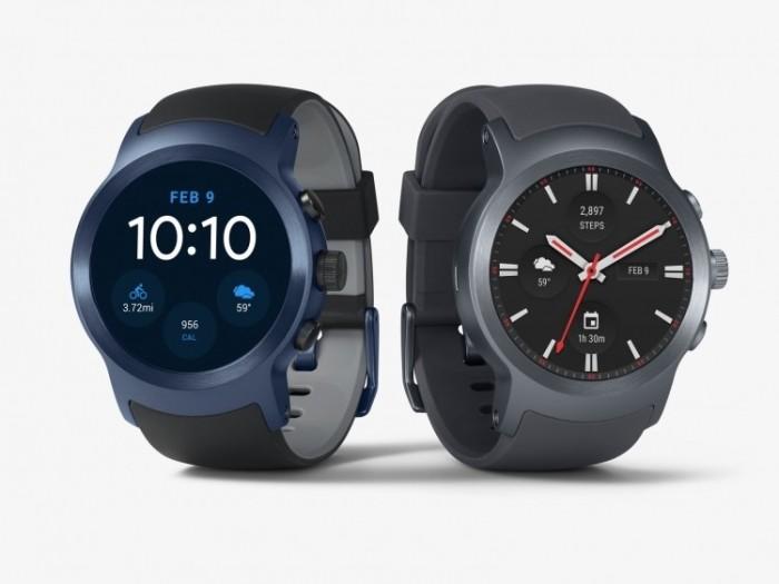 Новые часы Google и LG.