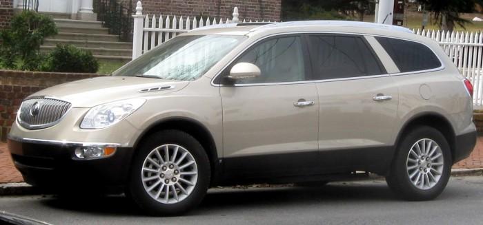 Buick Enclave - отличный выбор для большой семьи.