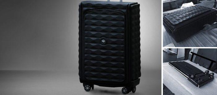 Самый компактный чемодан в мире.