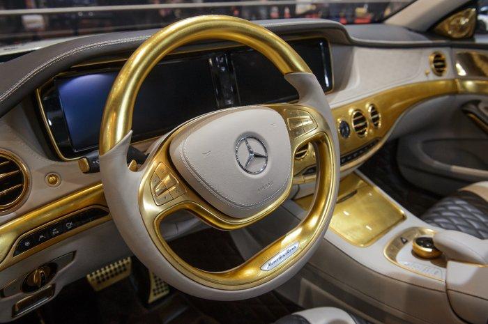 Самые роскошные аксессуары для авто.