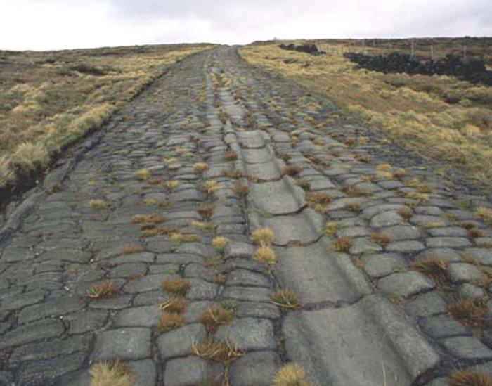 Римские дороги дошли и до наших дней.