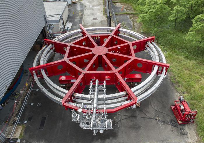 Огромных размеров магнит для ученых.