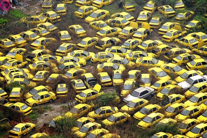 Рост экономики спровоцировал упадок рынка такси.