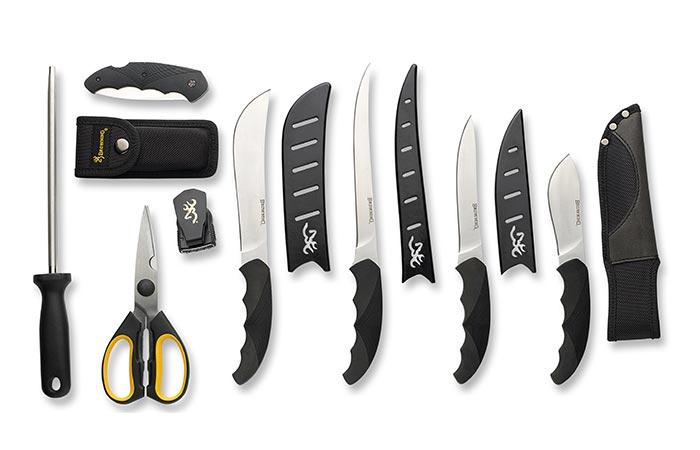 Отличный набор кухонных ножей.