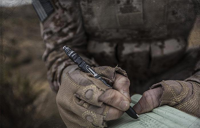 Настоящая тактическая ручка.