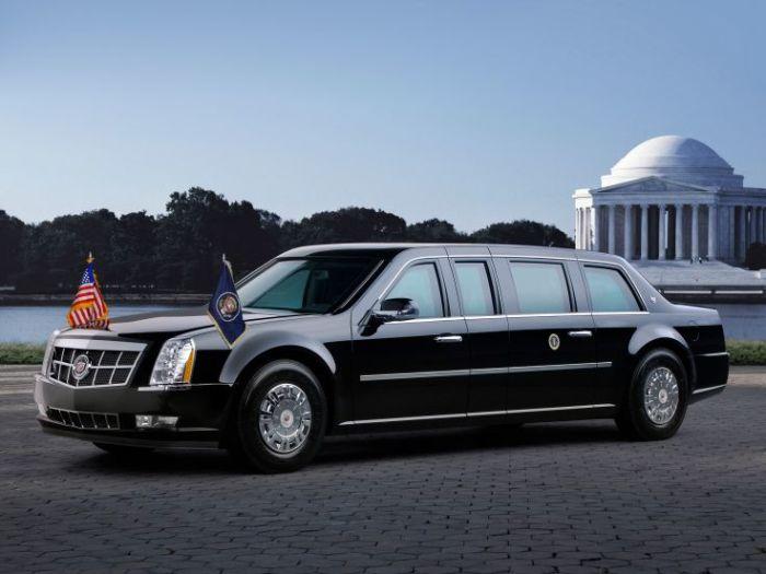 Самый защищенный президентский лимузин.
