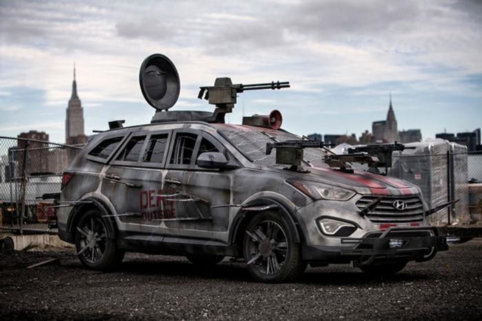 Лучшие автомобили на случай зомби апокалипсиса.