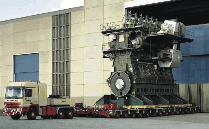Самые странные и самые большие двигатели.