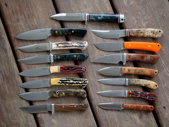 Разные ножи для разных задач.