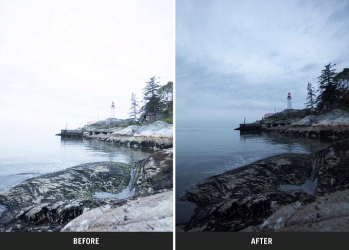 Другой образец до и после. Фото: kickstarter.com.