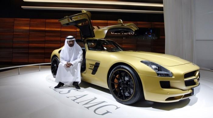 Автомобили богатейших шейхов.