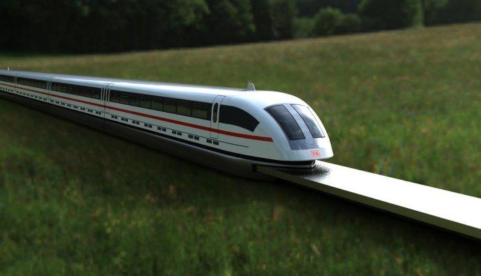 Один из самых быстрых поездов.