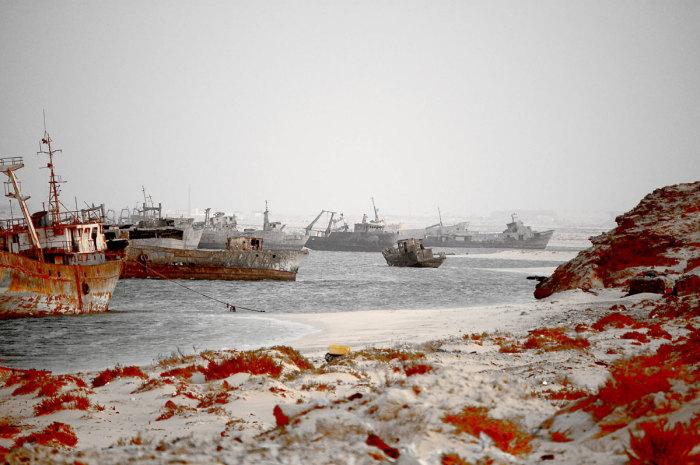 Кладбище старых кораблей.