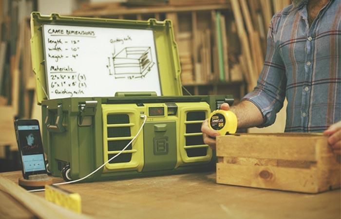 Новый умный ящик для инструментов.