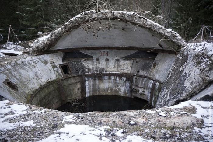 Советское наследие залито водой.