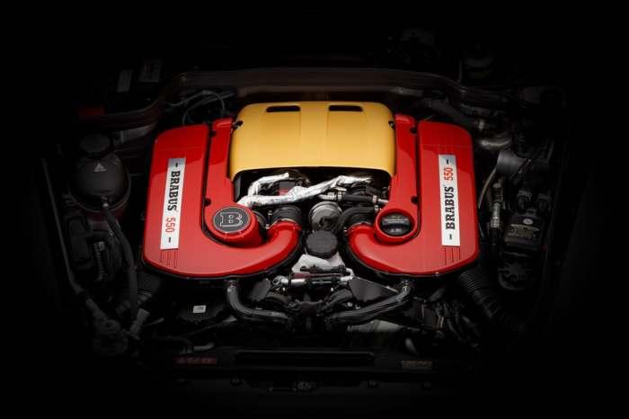 Мощный улучшенный двигатель.