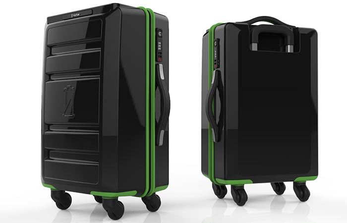 Отличные чемоданы на каждый день.