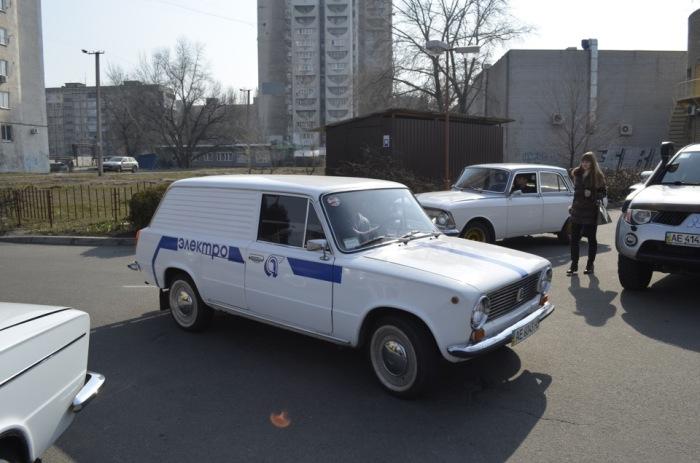 Электромобиль из СССР.
