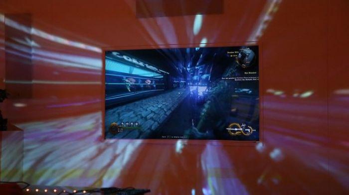 Проектор для новых ощущений от игры.