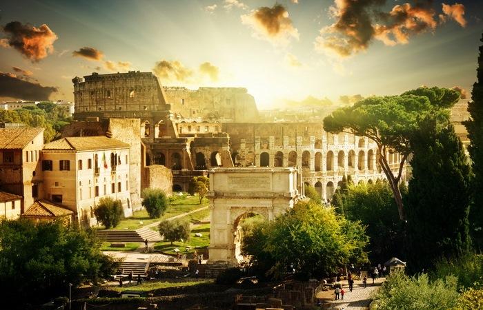 О вещах, которыми люди пользуются благодаря римлянам.