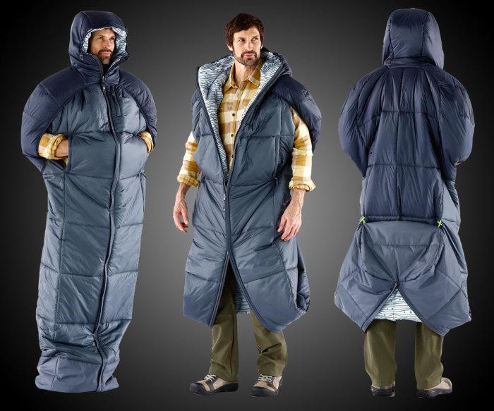 Новый спальный мешок-куртка.